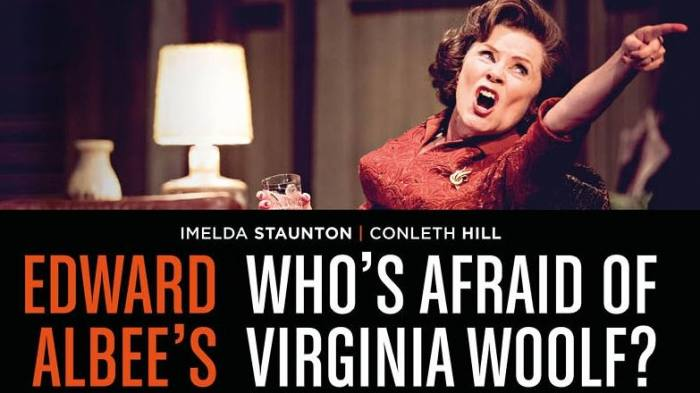 NT Live: Who's Afraid of Virginia Woolf? Image