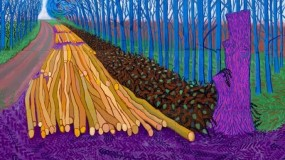 DAVID HOCKNEY AT THE ROYAL ACADEMY OF ARTS Image